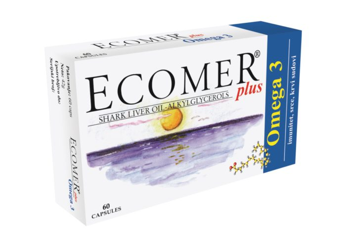 Ecomer Plus omega 3 alkylglycerolen